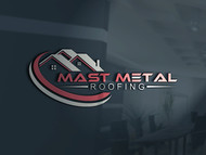 Mast Metal Roofing Logo - Entry #318