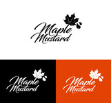Maple Mustard Logo - Entry #42