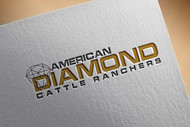American Diamond Cattle Ranchers Logo - Entry #109