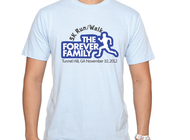 The Forever Family 5K Logo - Entry #33
