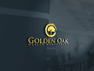 Golden Oak Wealth Management Logo - Entry #23