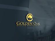 Golden Oak Wealth Management Logo - Entry #23