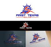 First Texas Solar Logo - Entry #122