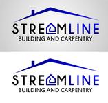 STREAMLINE building & carpentry Logo - Entry #82