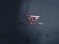Rams Duty Free + Smoke & Booze Logo - Entry #186