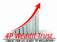 4P Wealth Trust Logo - Entry #93