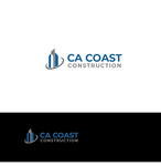 CA Coast Construction Logo - Entry #246