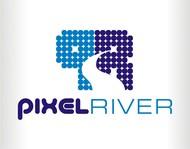 Pixel River Logo - Online Marketing Agency - Entry #180