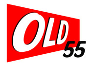 """""""OLD 55"""" - mid-century vintage furniture and wares store Logo - Entry #59"""
