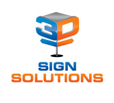 3D Sign Solutions Logo - Entry #3
