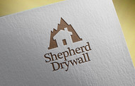 Shepherd Drywall Logo - Entry #188