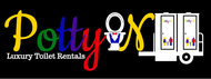 Potty On Luxury Toilet Rentals Logo - Entry #65