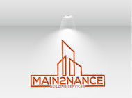 MAIN2NANCE BUILDING SERVICES Logo - Entry #265