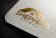 Shepherd Drywall Logo - Entry #197