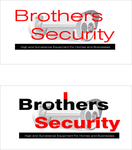 Brothers Security Logo - Entry #213