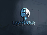Law Offices of David R. Monarch Logo - Entry #51