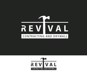 Revival contracting and drywall Logo - Entry #106