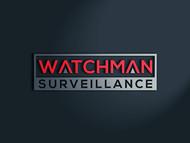Watchman Surveillance Logo - Entry #325