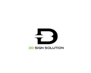3D Sign Solutions Logo - Entry #197