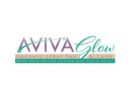 AVIVA Glow - Organic Spray Tan & Lash Logo - Entry #53