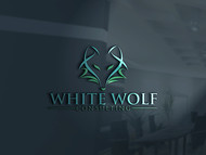 White Wolf Consulting (optional LLC) Logo - Entry #355