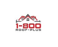 1-800-Roof-Plus Logo - Entry #42