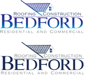Bedford Roofing and Construction Logo - Entry #71