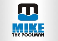 Mike the Poolman  Logo - Entry #126