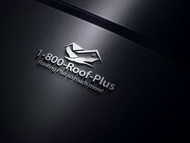 1-800-Roof-Plus Logo - Entry #81