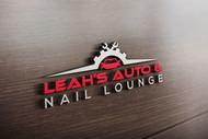 Leah's auto & nail lounge Logo - Entry #134