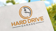 Hard drive garage Logo - Entry #113