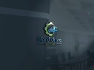 Hard drive garage Logo - Entry #313
