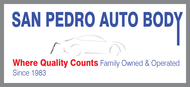 San Pedro Auto Body Logo - Entry #74