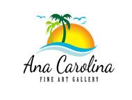 Ana Carolina Fine Art Gallery Logo - Entry #205