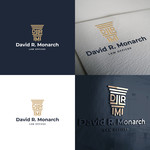 Law Offices of David R. Monarch Logo - Entry #90