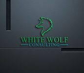 White Wolf Consulting (optional LLC) Logo - Entry #267