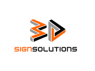 3D Sign Solutions Logo - Entry #153