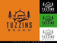 Tuzzins Beach Logo - Entry #257