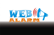 Logo for WebAlarms - Alert services on the web - Entry #61