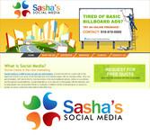 Sasha's Social Media Logo - Entry #189