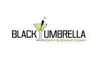 Black umbrella coffee & cocktail lounge Logo - Entry #4