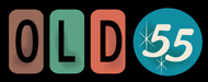 """""""OLD 55"""" - mid-century vintage furniture and wares store Logo - Entry #169"""