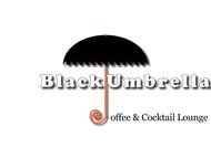 Black umbrella coffee & cocktail lounge Logo - Entry #27