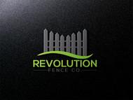 Revolution Fence Co. Logo - Entry #94
