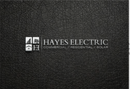Hayes Electric Logo - Entry #32