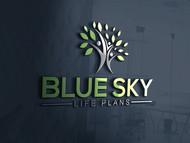 Blue Sky Life Plans Logo - Entry #76