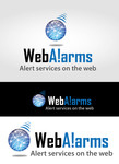 Logo for WebAlarms - Alert services on the web - Entry #43