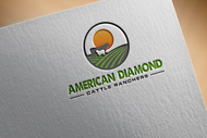 American Diamond Cattle Ranchers Logo - Entry #175