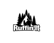 Ruffin'It Logo - Entry #114