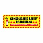 Consolidated Safety of Acadiana / Fire Extinguisher Sales & Service Logo - Entry #26